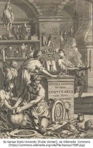 『アピシウス』De opsoniis et condimentis (アムステルダム: J. Waesbergios), 1709年。