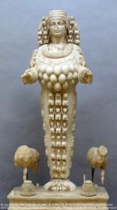 豊饒の女神・エペソス(エフェソス)の女神