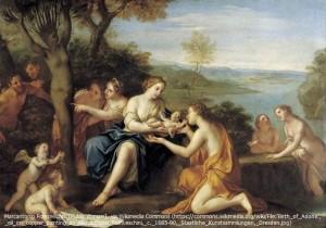 アドニスの誕生 by Marcantonio Franceschini