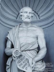"""テオプラストス - """"植物学の祖""""と呼ばれる。"""