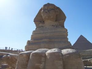 古代エジプトのスフィンクス