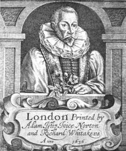 ジョン・ジェラード(John Gerard, 1545-1612)ポートレイト