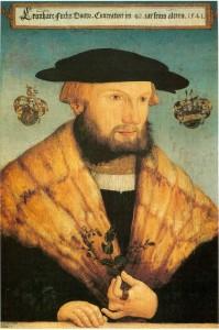 レオンハルト・フックス(Leonhart_Fuchs, 1501-1566年) ポートレイト