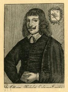 ニコラス・カルペパー(Nicholas Culpepper, 1616~1654年) ポートレイト