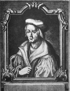 オットー・ブルンフェルス(Otto Brunfels, 1488-1534年) ポートレイト