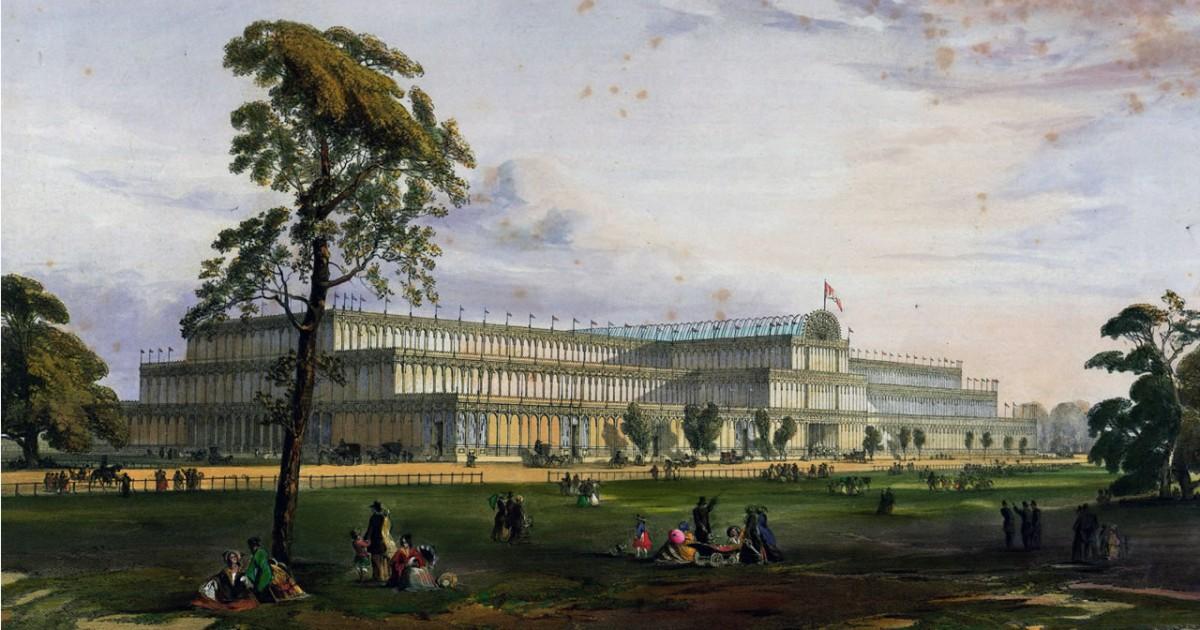 1851年 ハイドパークにおける万国博覧会
