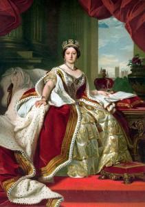 ヴィクトリア女王(Victoria, 1819~1901年)。イギリス・ハノーヴァー朝の第6代女王。