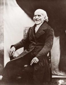 ザムエル・ハーネマン(Samuel_Hahnemann, 1755年~1843年) 1841年の肖像。
