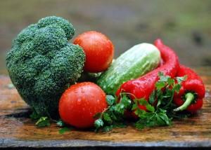 健康的な野菜の食事