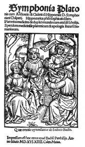 プラトン、アリストテレス、ヒポクラテス、ガレノスのカルテット