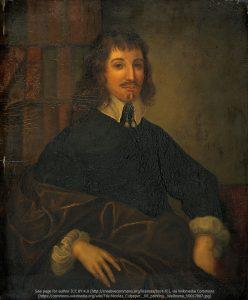 ニコラス・カルペパー(Nicholas Culpepper, 1616~1654年) ポートレイト(油絵)