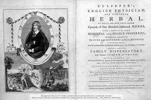 「Culpeper's English physician and complete herbal」(1789年出版)