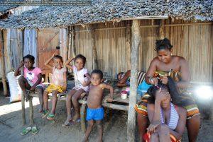 マダガスカル島の人々