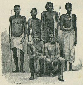 スクマ族の人々(1890年頃)