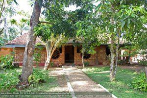 アーユルヴェーダのトリートメントを行う施設(スリランカ西海岸のアルトゥガマ)