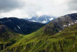 アラスカのツンドラ気候:デナリ国立公園(アラスカ)