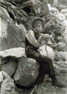 ジョン・ミューア(John Muir)1907年に撮影
