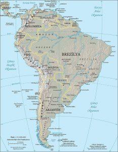 南アメリカ大陸