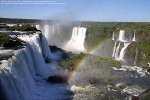 イグアスの滝(ブラジル側から眺めた景色)