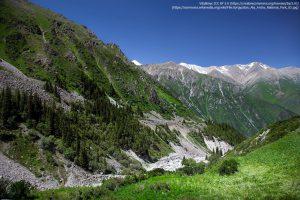 アラ・アルチャ国立公園(Ala Archa National Park)/ 天山山脈に位置する、キルギス最初の国立公園