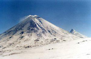 クリュチェフスカヤ山(カムチャツカ地方・ロシア)