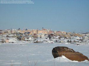 北極海に面した町 / ヤマロ・ネネツ自治管区(ロシア)