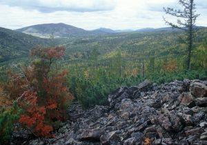 南ヴェルホヤンスク山脈(ロシア)