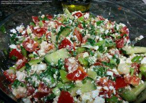 イタリアンパセリ入りサラダ